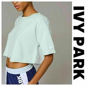 NWT Ivy Park Cropped Sweatshirt
